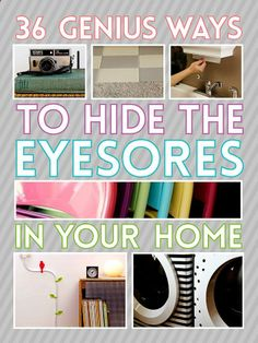 194218421175378463950 36 Genius Ways To Hide The Eyesores In Your Home
