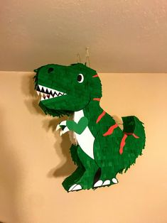 21 T-REX Dinosaur pinata / Personalize colors Birthday Party Decorations, Party Themes, Birthday Parties, Dinosaur Birthday Party, Boy Birthday, Jurassic World, T Rex, Dinosaur Stuffed Animal, Cool Kids