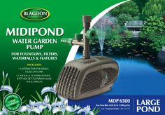 Images of homemade fountains for big ponds Garden Water Pump, Lotus Garden, Waterfall Features, Pond Fountains, Ponds, Solar, Homemade, Big, Hand Made