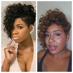 How did I do with this recreation of Fantasia's hair style 👍🏾😝👎🏾 #stylesbykamilah #celebrityrecreations #viralbeauty