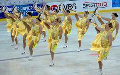 Flexibility shown by Rockettes