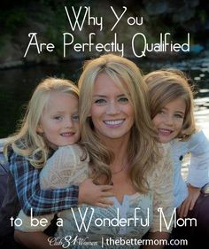 Have you ever wondered if you REALLY have what it takes to be a mom? GREAT article!!