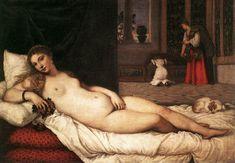 Titian's famous painting Venus of Urbino
