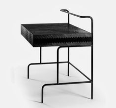 Soot Architect's Desk By Karolina Stenfel