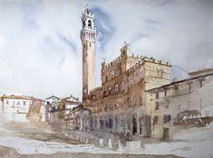 Piazza del Campo by NiceMinD.deviantart.com on @deviantART
