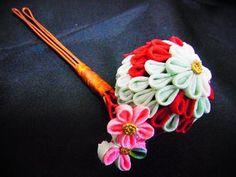 古布正絹の摘み簪です|ハンドメイド、手作り、手仕事品の通販・販売・購入ならCreema。