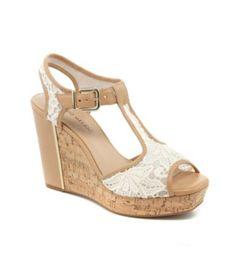 f6da25062e69 Antonio Melani Selennatwo T-Strap Wedge Sandals