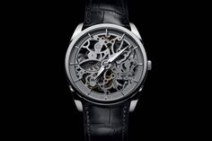 Pre-SIHH 2015 - The Parmigiani Fleurier Tonda 1950 Squelette - Monochrome Watches Fine Watches, Cool Watches, Watches For Men, Latest Watches, Stylish Watches, Luxury Watches, Elegant Watches, Fleurier, Monochrome Watches