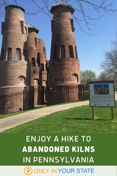 This unique, accessible hiking trail offers a lot of history and nature to enjoy. You'll come across abandoned cement kilns, a restored train car, and more. The hike is beginner and family friendly. Bring your stroller and your camera! Us Travel, Places To Travel, Places To See, Travel Destinations, Best Bucket List, Hidden Beach, State Forest, Local Attractions, Train Car