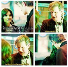 """""""Rule number one: The Doctor lies"""""""