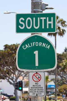 South Pacific Coast Highway n Laguna Beach California.lso known as State Route 1 and State Highway 1