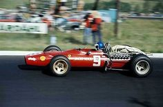 Jacky Ickx, Ferrari 312/68, 1968 South African Grand Prix, Kyalami
