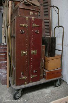 antique suitcases - Google Search