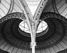 Salle de Travail (ceiling detail), Bibliothèque Nationale (National Library)  Paris, France. Henri Labrouste, 1862-1868