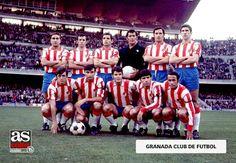 EQUIPOS DE FÚTBOL: GRANADA contra Barcelona 22/11/1970