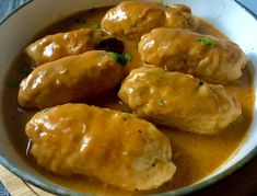 Roladki drobiowe z mozzarellą - Blog z apetytem Aga, Pretzel Bites, Mozzarella, Chicken Wings, Baked Potato, Food And Drink, Potatoes, Cooking Recipes, Lunch