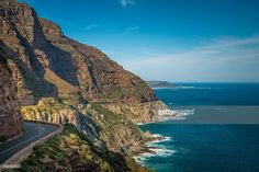 The Chapman's Peak Drive, Cape Peninsula | Western Cape, South Africa | #stockphotos #gettyimages #print #travel