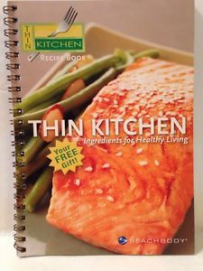 Beach Body Thin Kitchen Recipe Spiral Cookbook Ingredients for Healthy Living