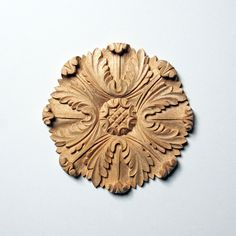 Complex Acanthus-Leaf Large Rosette