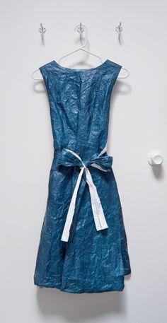 reclaimed tyvek dress suzukibean.com