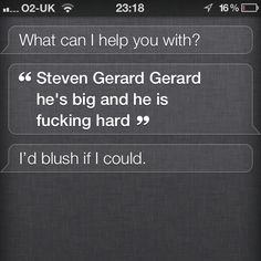 Steven Gerrard , Liverpool FC, Football , Everton , Manchester , Apple IPhone Siri