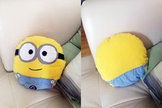 This Minion Pillow | Community Post: 16 Minion DIY Projects You Won't Believe Exist