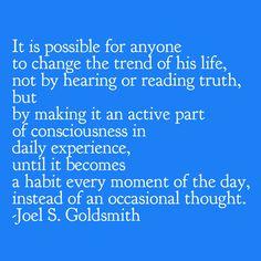 Joel Goldsmith - Practicing the Presence