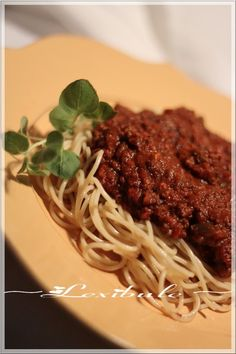 Sauce à spaghetti Italien de Franden~