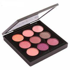 9 Colors Makeup Eyeshadow Palette Makeup Pallet Matte&Shimmer Smokey Eye Shadow