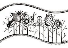 zen - More doodle ideas - Zentangle - doodle - doodling - zentangle patterns. zentangle inspired - by Peggy Bone Doodles Zentangles, Tangle Doodle, Zentangle Drawings, Zen Doodle, Doodle Drawings, Doodle Art, Doodle Patterns, Zentangle Patterns, Doodle Borders