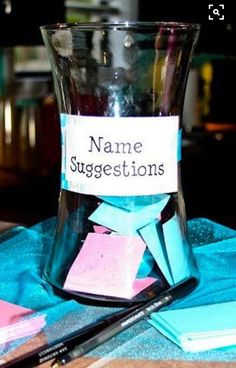 12 perfect baby shower gift ideas 2019 Combine with MadLibs for some silly name suggestions! The post 12 perfect baby shower gift ideas 2019 appeared first on Baby Shower Diy. Cute Baby Shower Ideas, Baby Shower Games, Baby Boy Shower, Baby Showers, Baby Shower Activites, Baby Shower Ideas On A Budget, Gender Neutral Baby Shower, Baby Gender Reveal Party, Gender Party