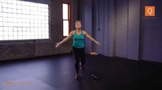 'Crunchless Core' Cardio With Sarah - YouTube