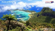 Lord Howe Island in Australia. Very beautiful, the remote island is not open to everyone all the time. Only 400 visitors are allowed to be there at a time. Because of that, the natural beauty of Lord Howe Island has been well preserved. Oh The Places You'll Go, Places To Travel, Travel Destinations, Places To Visit, Travel Trip, Time Travel, Beautiful Islands, Beautiful World, Beautiful Places