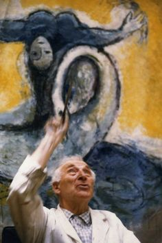 The Colourful world of Marc Chagall.