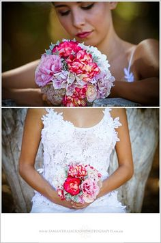 can anyone guess what the darker pink/yellow toned flowers are? Samantha Jackson Photography - Blog - Styled Wedding Shoot