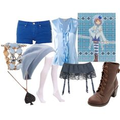 """Amu Hinamori- Amulet Spade"" by theearlmustang on Polyvore"