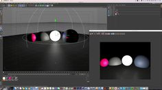 Cinema 4D Tutorial_Rendering_Light Shape Rendering (시네마4D 강좌_라이트의 쉐입 렌더링) 강좌입니다. - YouTube