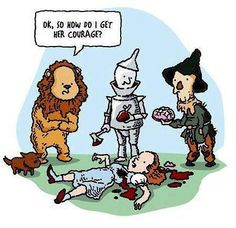 wizard of oz funny«««« lol this so so wrong..... but just so funny.:)