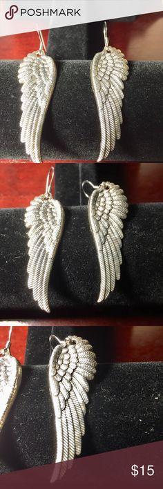 SOUL ANGEL WINGS DESIGN STAINLESS STEEL RING