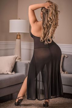 Women's Plus Size Two Piece Sexy Long Black Mesh and Lace | Etsy Plus Size Two Piece, Plus Size Gowns, Curvy Dress, Culture, Sexy Women, Curvy Women, Lace, Dresses, Mother Nature