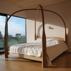 David Trubridge Four Poster Bed