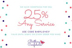 Happy New Year from Birthing Confidence! A new website, new services, and a gift for you! #pregnancy #dc #va