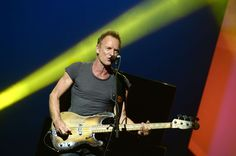 Slide 1 of 68: NEW YORK, NY - SEPTEMBER 27:  Sting performs on stage during Advertising Week New York 2016 - D&AD Impact at the PlayStation Theater on September 27, 2016 in New York City.  (Photo by Andrew Toth/Getty Images for Advertising Week New York)