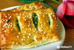 Hungarian Cuisine, Hungarian Recipes, Vegetarian Recipes, Healthy Recipes, Fun Desserts, Baked Goods, Feta, Hamburger, Food And Drink