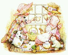 Holly Hobbie - tea party