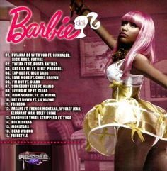 1000+ images about Barbie on Pinterest | Nicki minaj, Mixtape and Barbie dolls