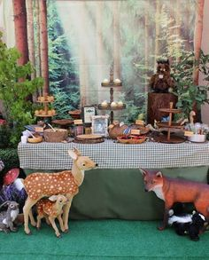 Camping Themed Birthday Party Ideas