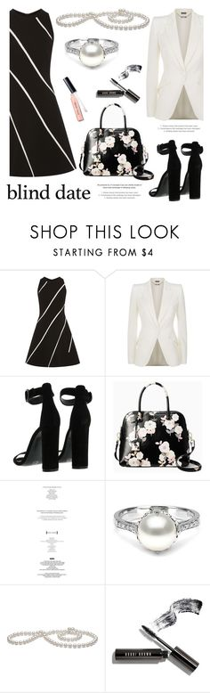 """Dress to Impress: Blind Date"" by pearlparadise ❤ liked on Polyvore featuring Alexander McQueen, Kendall + Kylie, Kate Spade, StyleNanda and Bobbi Brown Cosmetics"