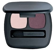"BE pretty in pink... and plum with @bareMinerals  ""The Inspiration"" Ready 2.0 Eyeshadow Duo. #naturalBEauty"