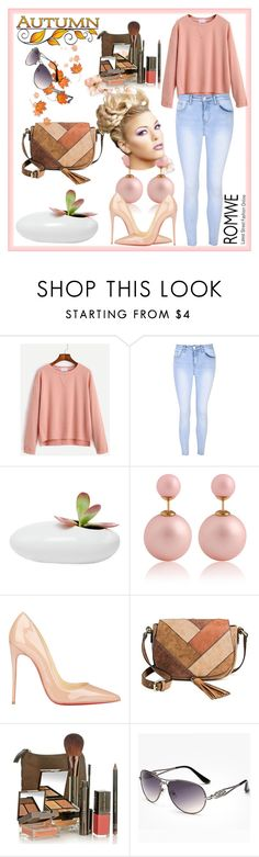 """Romwe"" by loveliest-back ❤ liked on Polyvore featuring Glamorous, Dot & Bo, Christian Louboutin, Merona and Lauren Hutton"